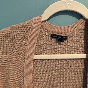 Light tan cozy AEO sweater